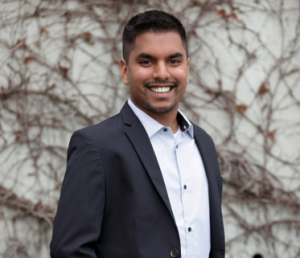 Head shot of dietetic grad student Bhavin Mistry