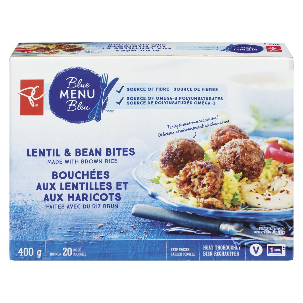 PC Lentil and Bean Bites