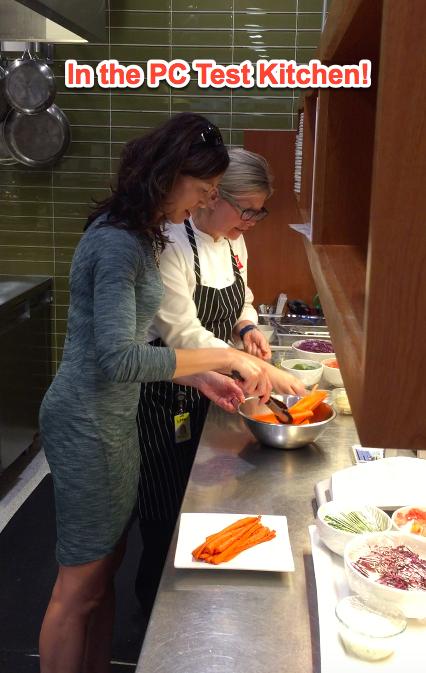 Sue and Executive Chef Michelle Pennock