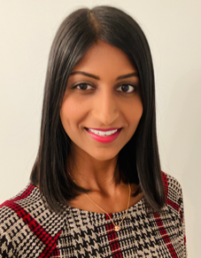 Headshot of Robena Amalraj