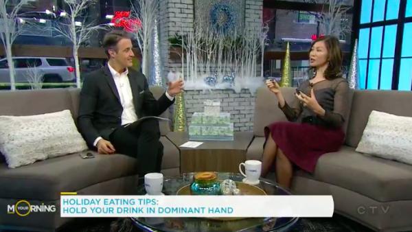 TV host Ben Mulroney and Dietitian Sue Mah
