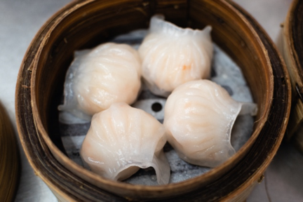 Har Gow (Chinese steamed shrimp dumplings)
